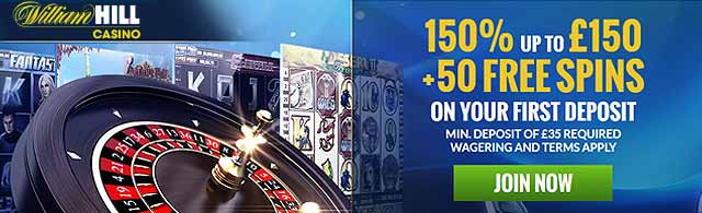 william hill free spins